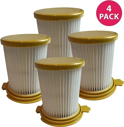 4 de repuesto para DIRT DEVIL F12 filtro HEPA estilo, Compatible ...