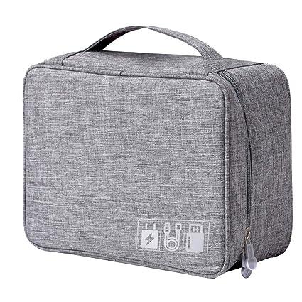 c1032ce5af27 Amazon.com : Zuozee Electronic Accessories Storage Bag Travel ...