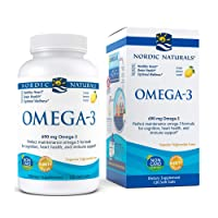 Nordic Naturals - Omega-3, Cognition, Heart Health, and Immune Support, 120 Soft Gels