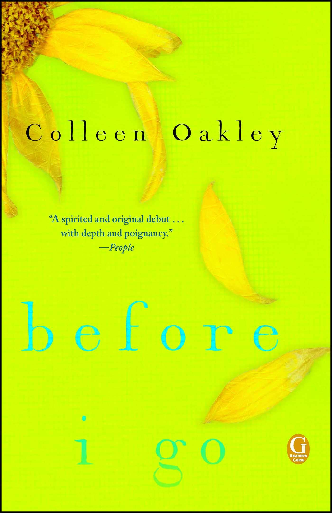 Download Before I Go: A Book Club Recommendation! pdf epub