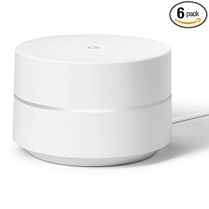 Google Wifi system (set of 6) - Router replacement for whole home coverage
