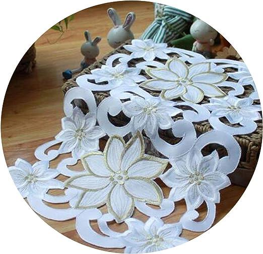 Amazon Com Luxury Lace Satin Placemat Cup Tea Coffee Coaster Mug