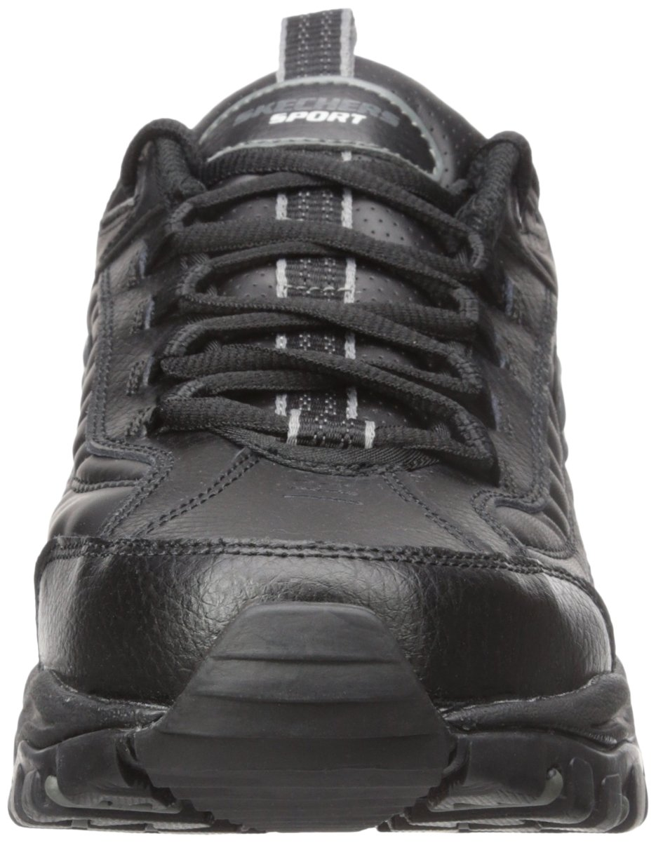 Skechers Sport Men's Energy Afterburn Lace-Up Sneaker,Black,13 M by Skechers (Image #4)