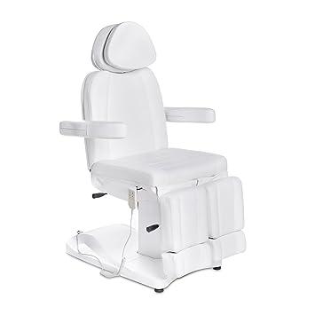 Elektrische / hydraulische Fußpflegestuhl 123803 weiß