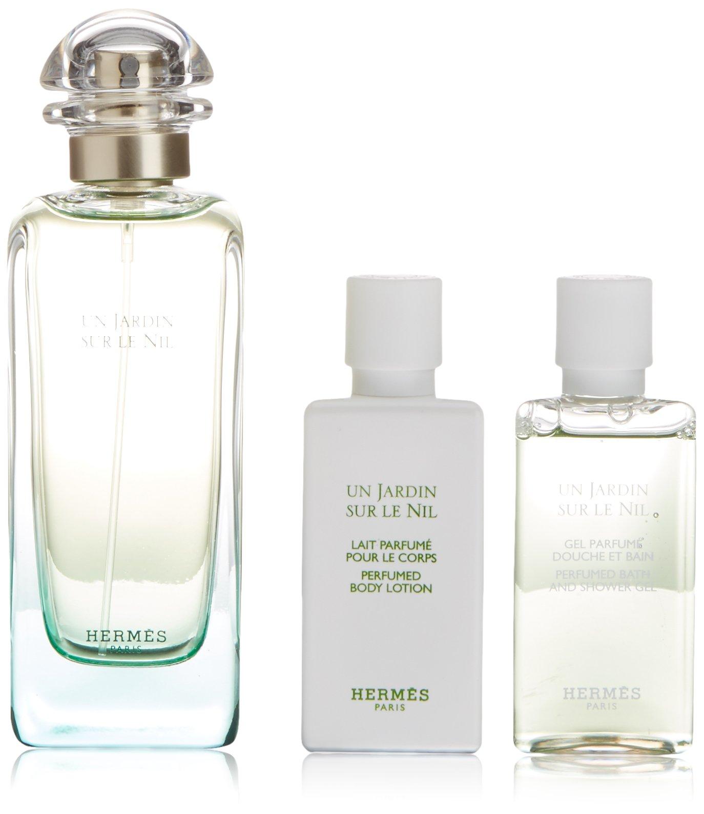 Hermes Un Jardin Sur Le Nil Fragrance Set, 3 Count