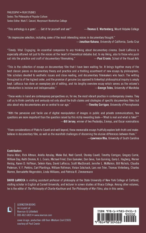 Philosophy of Documentary Film - Livros na Amazon Brasil