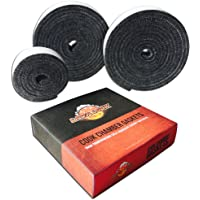 Nomex High Temp BBQ Gasket for All Kamado Smokers (Joe, Primo, Grill Dome, King, Komodo, saffire etc)