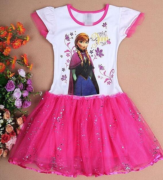Eyekepper Traje de Cosplay de Impresión Brillante Vestido de Las Chicas de Edad 3-7 Años: Amazon.es: Ropa y accesorios