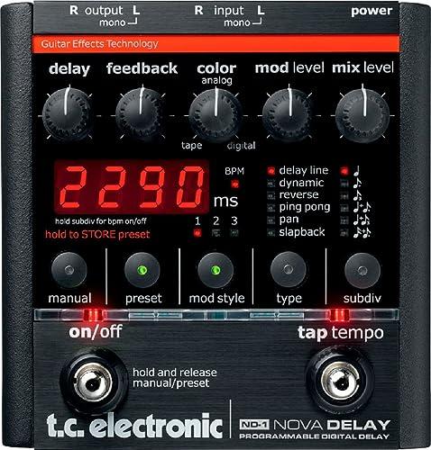 TC Electronic ND-1 Nova Delay Guitar Pedal