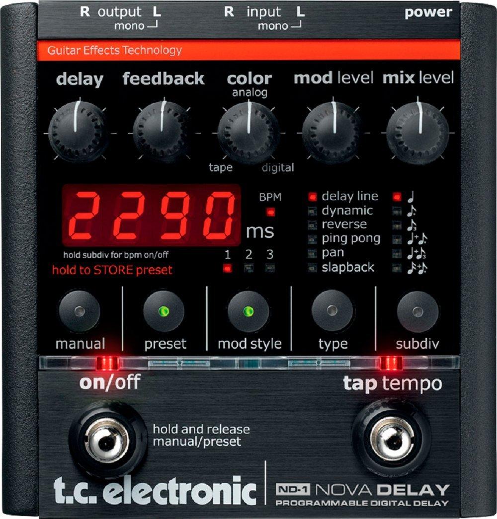 t.c.electronic ND-1 Nova Delay ギターエフェクター B000X1WD56