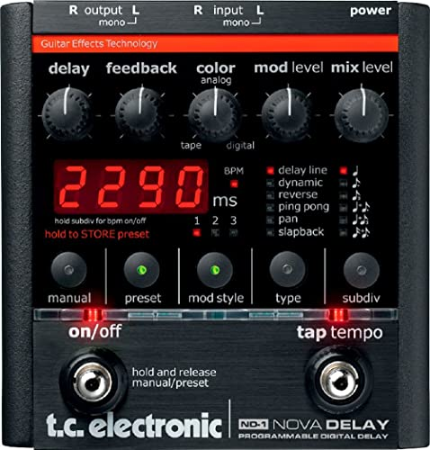 TC Electronic ND-1 Nova Delay Guitar Pedal