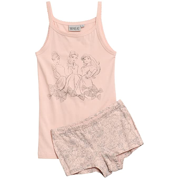 Wheat Girls Unterwäsche-Set Princess Cinderella Disney, Conjunto de Ropa Interior para Niñas,