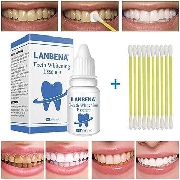 Esencia blanqueadora de dientes, blanqueamiento dental lavado ...
