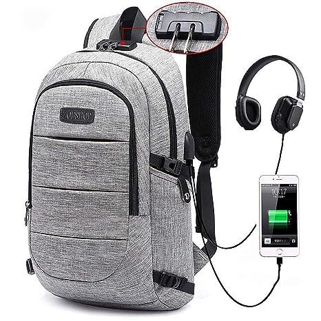 9803c5fa107f Amazon.com  Laptop Backpack for boys   Men   Women