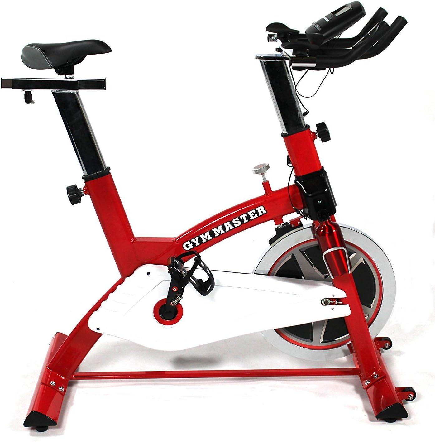 GYM MASTER PRO - Bicicleta estática de alta resistencia con ...