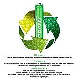 AAAA Batteries, ANVOW Rechargeable AAAA Batteries