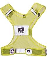 Nathan Streak Reflective Vest Safety Yellow