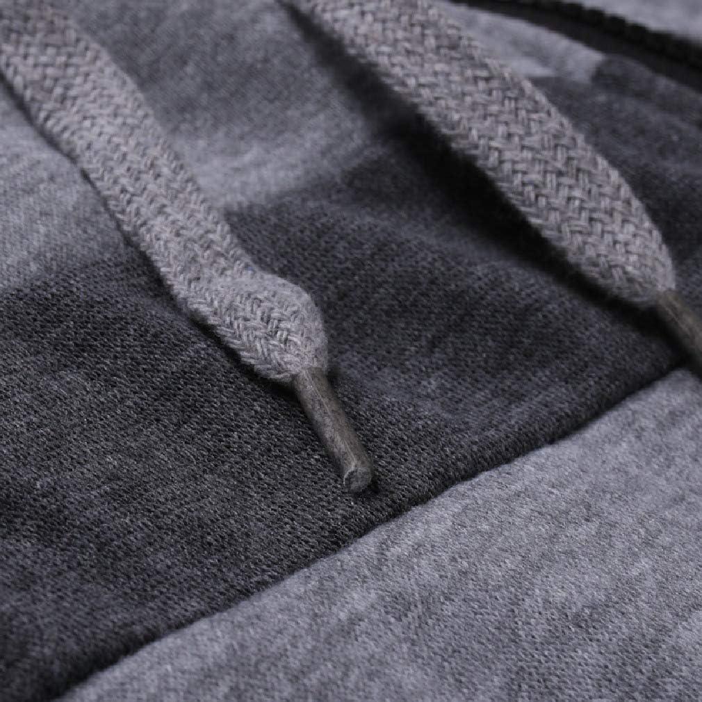 CrazyDayMen Jackets Color Block Hooded Autumn Winter Full-Zip Tracksuit Top