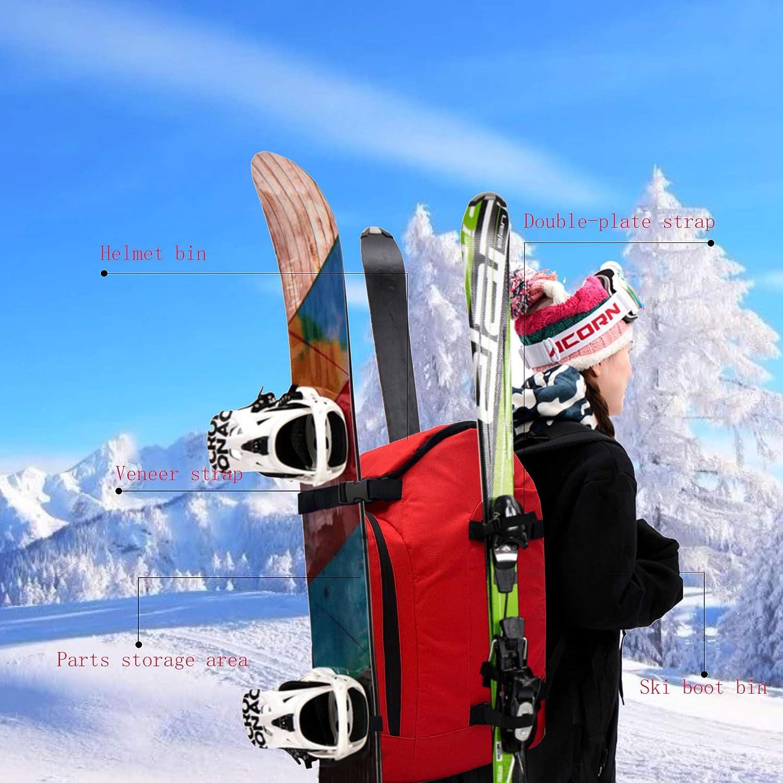 Ski Boot Travel Backpack