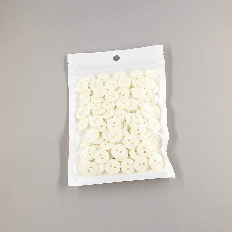 cada color 15 con caja Leekaye Botones de costura de resina multicolor en forma de coraz/ón de 15 mm con 2 agujeros para /álbumes de recortes 150 unidades