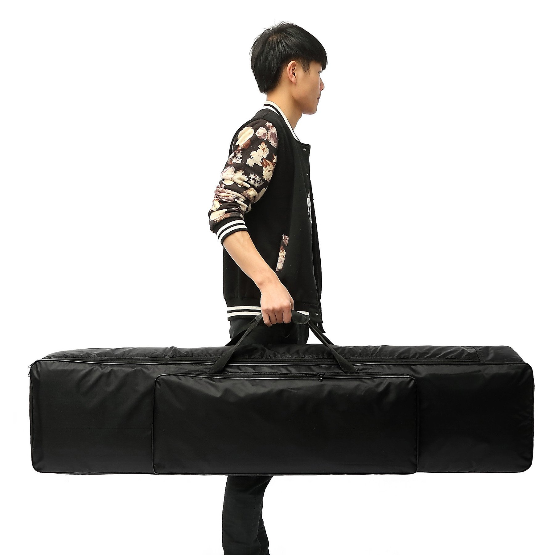 NKTM 88 Key Electric Piano Keyboard Gig Bag,Adjustable and Portable Backpack Straps(NOT FIT All 88-Key Keyboards) 52 x 12 x 6in by NKTM (Image #7)
