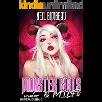 Monster Girls And MILFs: A Fantasy Harem Bundle book cover