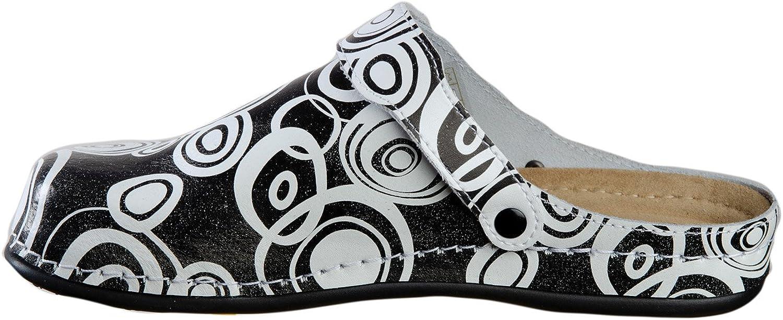 AWC Comic Sandales professionnelles avec semelle en PU noir