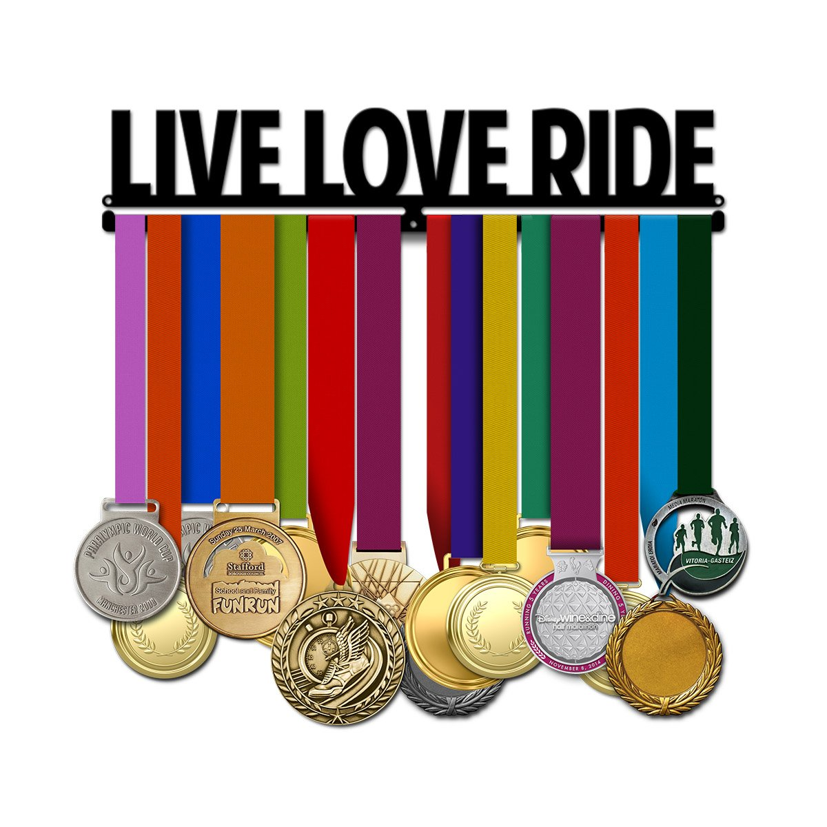 Live Love Ride - Cyclist Medal Hanger