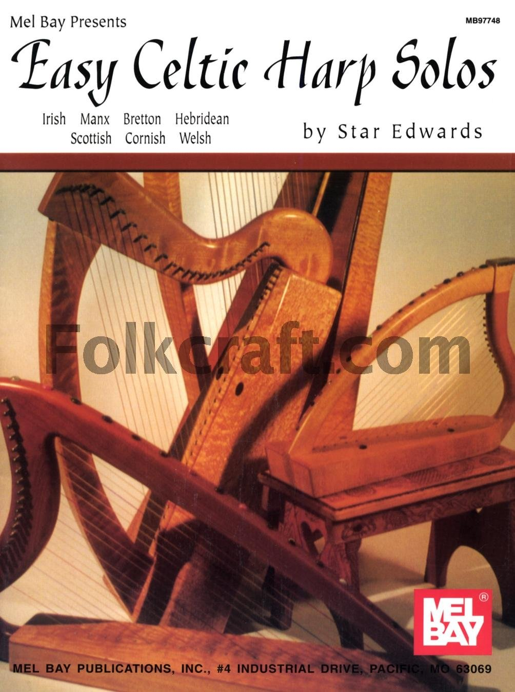 Easy Celtic Harp Solos Mel Bay Publications