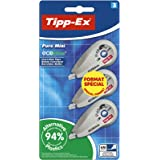 Tipp-Ex Pure Mini ECOlutions Rubans Correcteurs - 6 m x 5 mm, Blister Format Spécial de 3