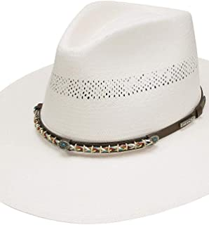product image for Stetson Unisex Natural 10X Lexington Western Shantung Straw Hat - Sslxtn-6534