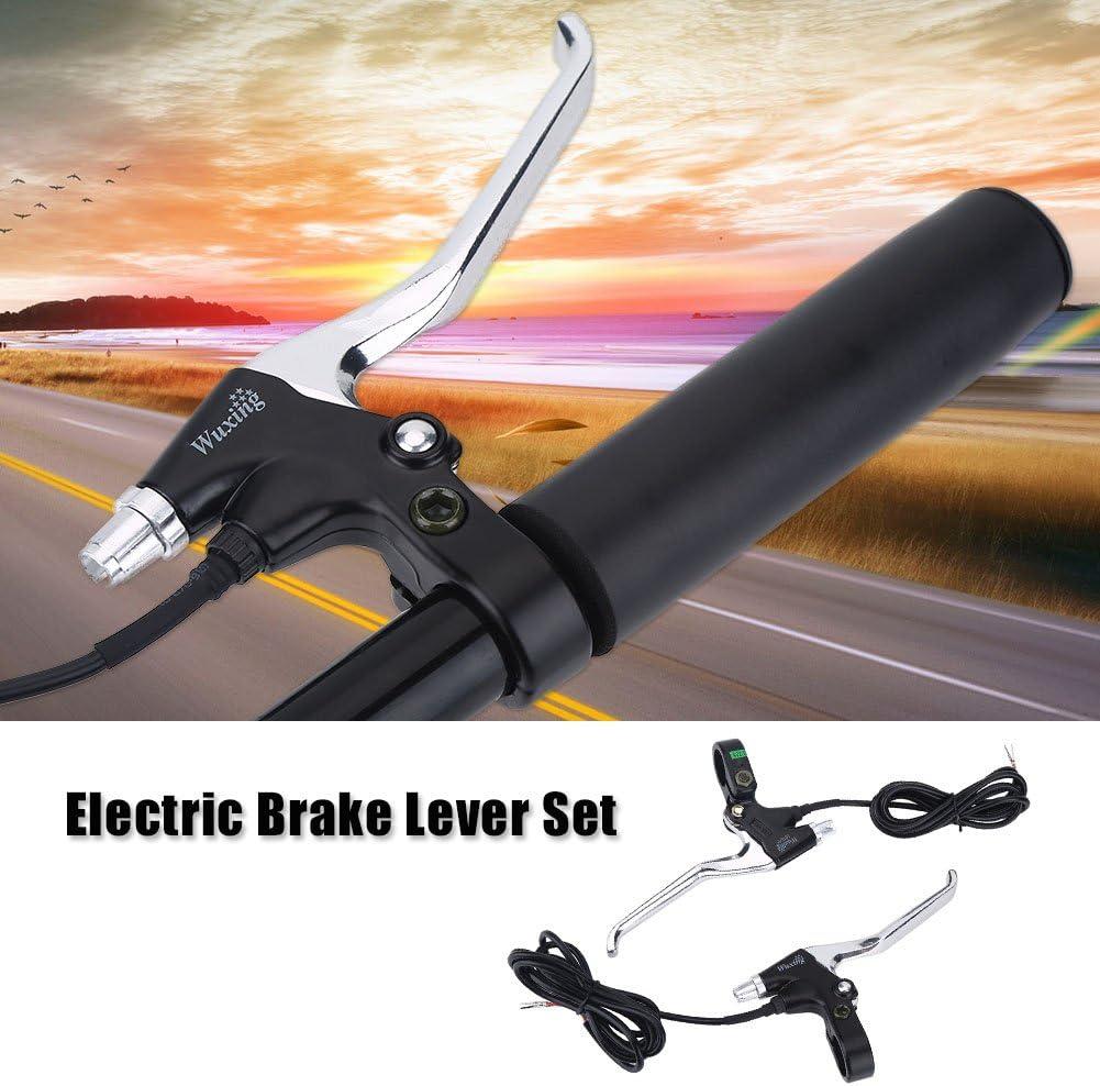 1 Pair Aluminum Bicycle Brakes V Brake Levers Brake Capliers Handle BE