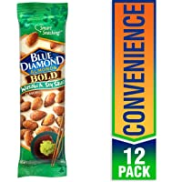Deals on 12-Pack Blue Diamond Almonds, Bold Wasabi & Soy 1.5oz