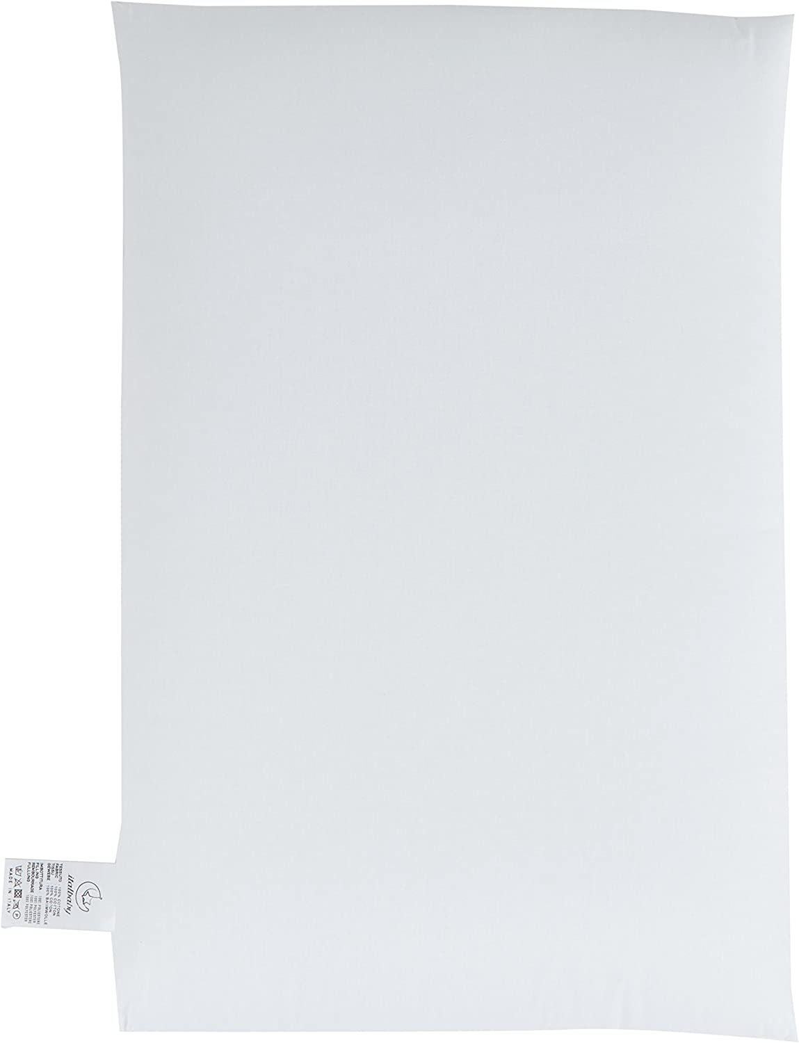 38x58 cm Bianco Baby Minder 020.3050 Comfort Guanciale Lettino Cotone