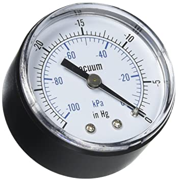 how to use a vacuum gauge