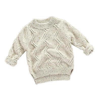 4c63d8d9b7a556 Kinder Stricken Pullover Sweatshirt Langarmshirt Kleinkind Kinder ...