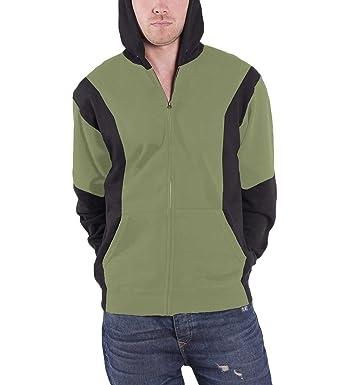b5da359cb65ad Nintendo Zelda Triforce Logo Homme Nouveau Noir & Vert Sweat-Shirt À Capuche:  Amazon.fr: Vêtements et accessoires