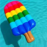 Baisidai Kids Adults Teens Float Loungers Backyard Fun Play Center Popsicle Lounge Water Slide Inflatable H2Whao Summer Outdoor Pool Fun Swimming