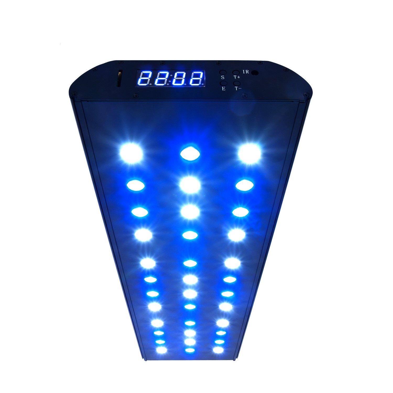 eSmart Germany Sea Nemo 2 Aquariumbeleuchtung für Meerwasser | 108W | 7.200lm | Programmierbar | passive (lautlose) Kühlung | Aquarium Beleuchtung Aquarium Leuchte Aquarium Lampe