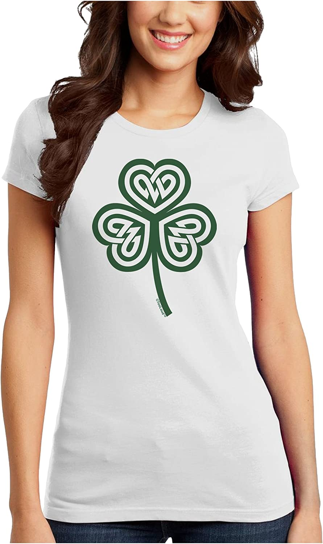 TooLoud Celtic Knot Irish Shamrock Toddler T-Shirt Dark