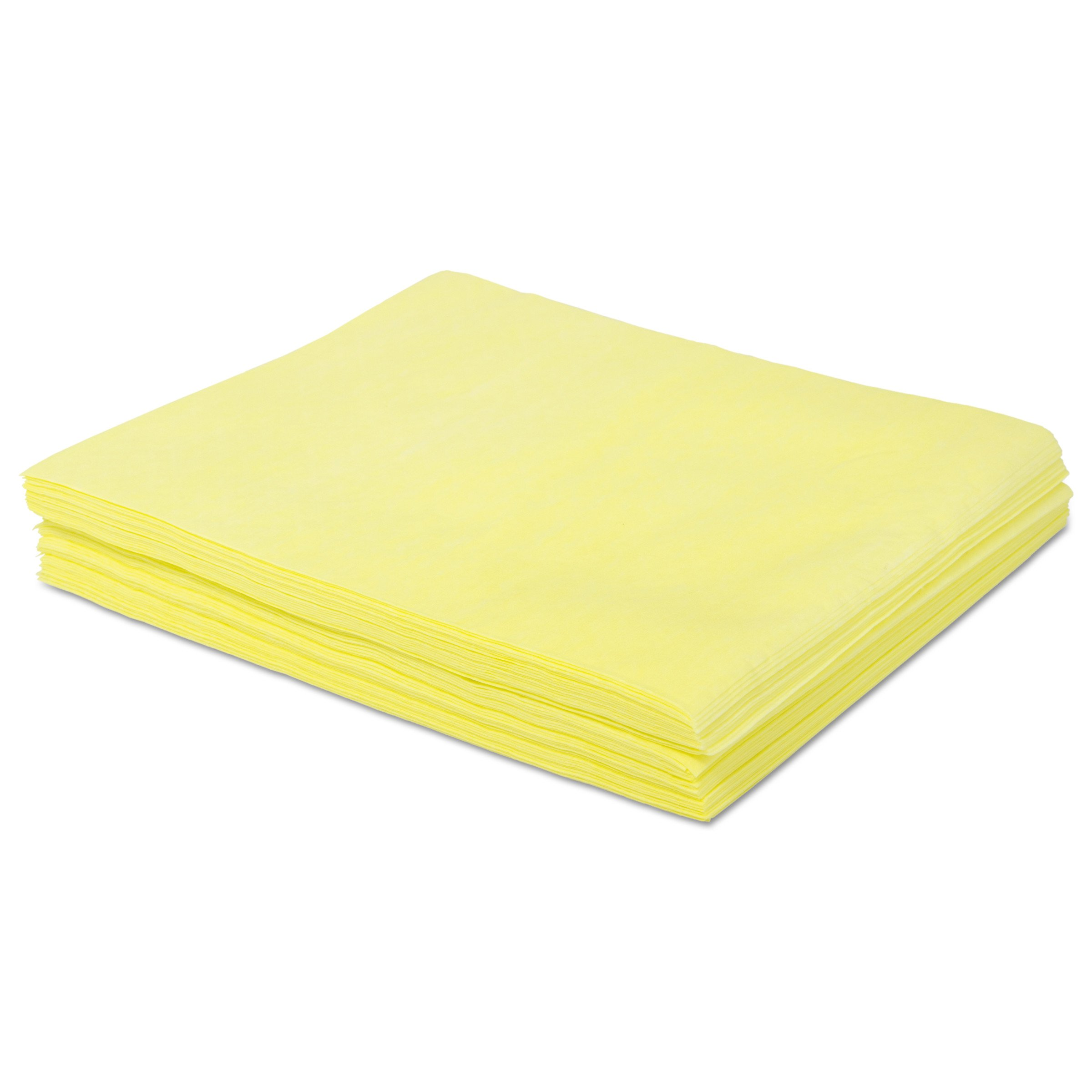 Boardwalk BWKDSMFPY Dust Cloths, 18'' x 24'', Yellow (Case of 500)