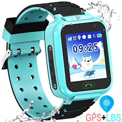 Amazon.com: Kid Smartwatch GPS Tracker - Reloj de pulsera ...