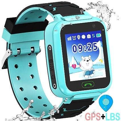 Amazon.com: Kid Smartwatch GPS Tracker - Reloj de pulsera ...