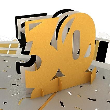 Amazon Lovepop 30th Celebration Pop Up Card 3D Birthday