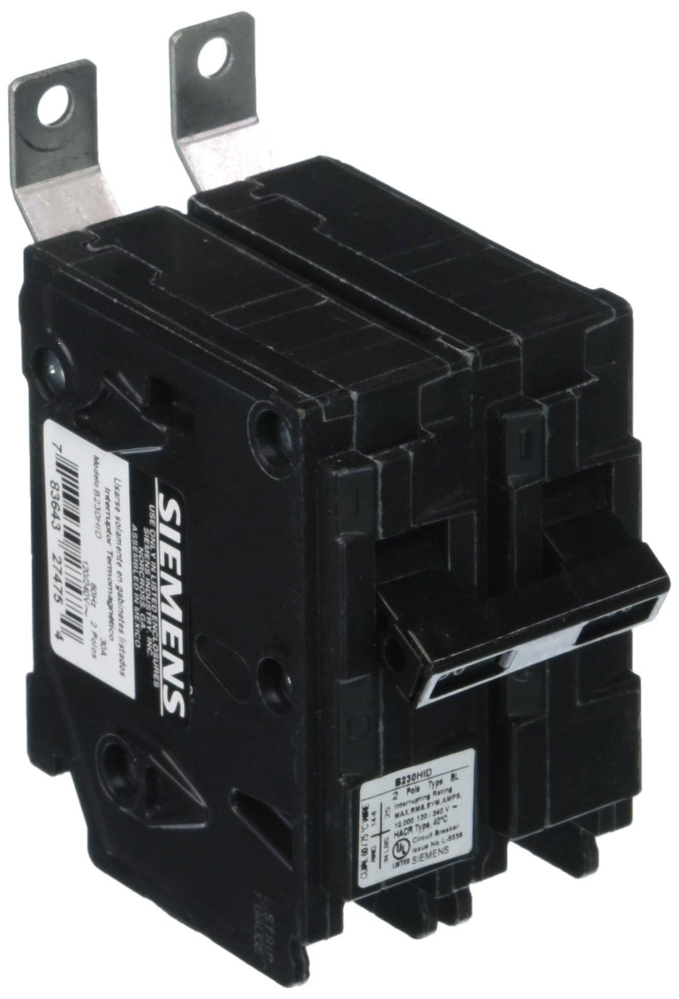 Siemens B230HID 30-Amp Double Pole 120/240-Volt Bolt in Breaker