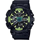 G-Shock GA110LY-1A Sporty Illumi Series Watches - Black / 1 Size
