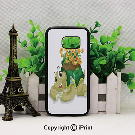 Amazon.com: Funny Floral Turtle Talking with Colorful ...