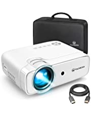 """VANKYO Leisure 430 Mini Movie Projector, 3600 Lux Video Projector with 50,000 Hours LED Lamp Life, 236"""" Display, Support 1080P, HiFi Built-in Speaker, Compatible with TV Stick, HDMI, SD, AV, VGA, USB"""