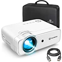 "VANKYO Leisure 430 (2020 Upgraded ) Projector, 4000 Lux Mini Video Projector with 50,000 Hours LED Lamp Life, 236"" Display, Support 1080P, HiFi Built-in Speaker, Compatible with HDMI, SD, AV, VGA, USB"