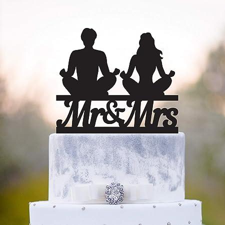 Decoración para tarta de boda o yoga, diseño de meditación y ...